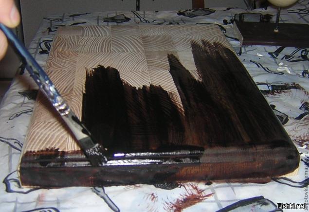 Как изготовить морилку в домашних условиях фото