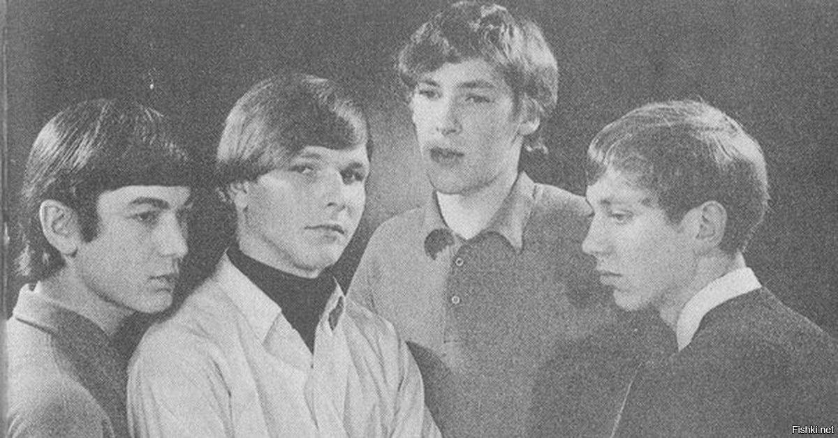 Первый состав Scorpions, тогда ещё Nameless