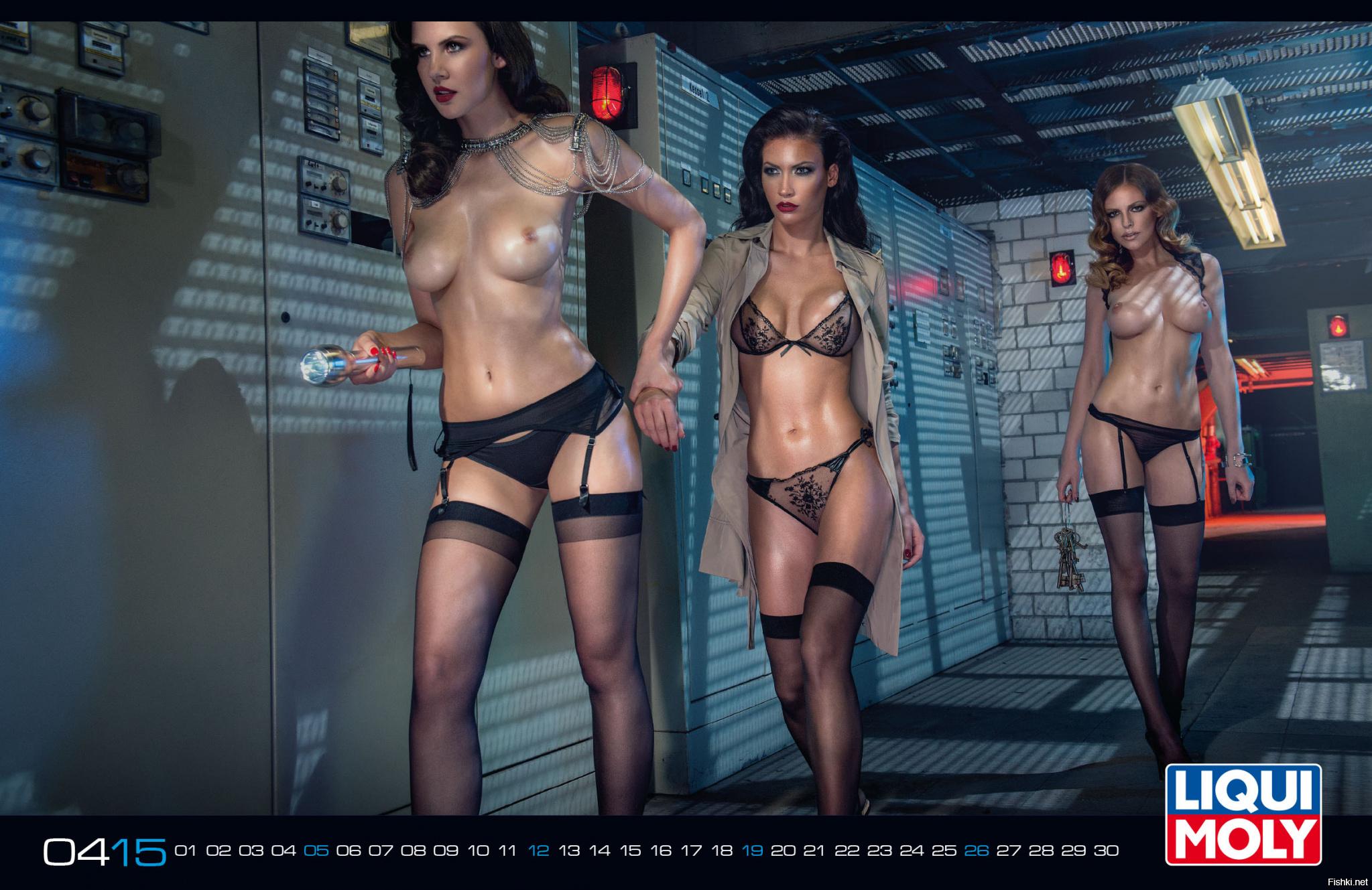 Голые модели на календарях, порно у всех на виду смотреть онлайн