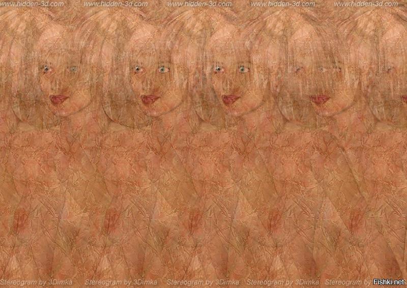 Молодые стереокартинки с голыми женщинами большие