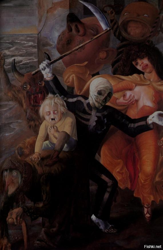 Семь смертных грехов в картинах художников