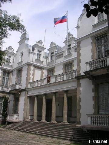 оставить при фото российского посольства в других странах зима