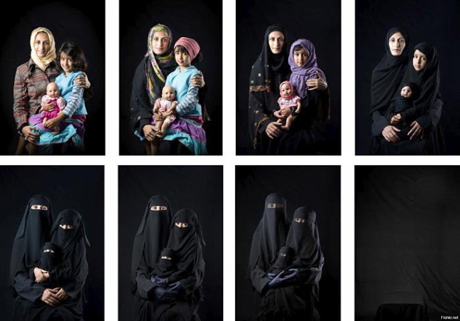 Прикольные картинки про хиджаб, для