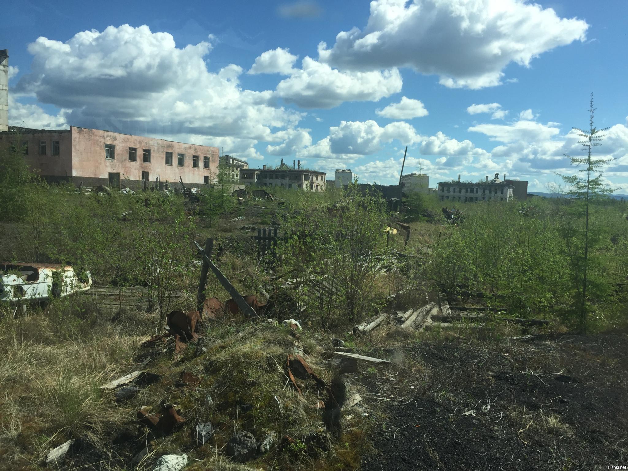 заброшенные города россии фото с описанием открытки днем