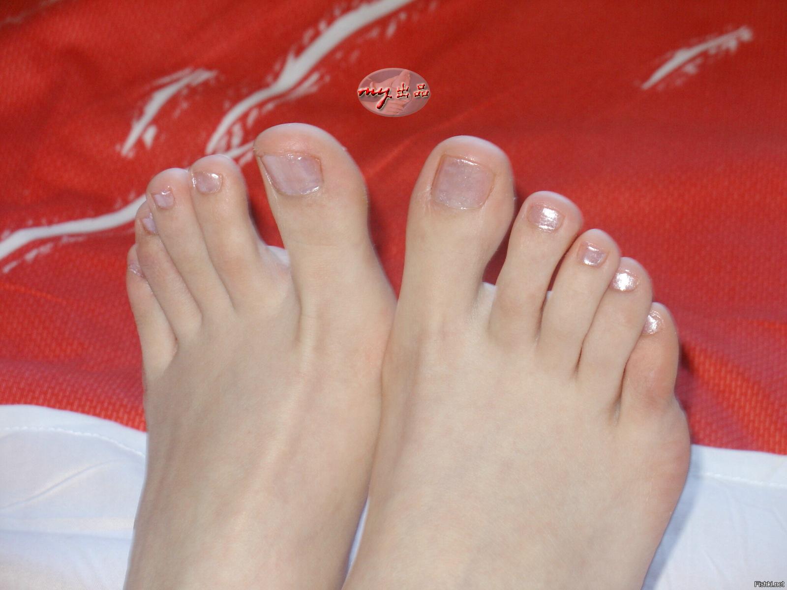 ножках фото на женских пальчики