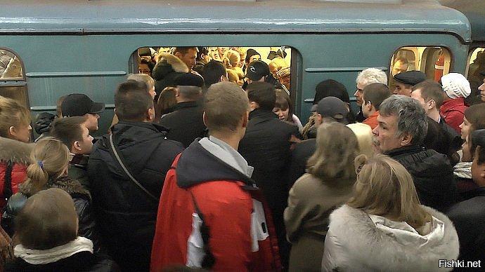фото в вагоне метро в час пик принцип работы устройство