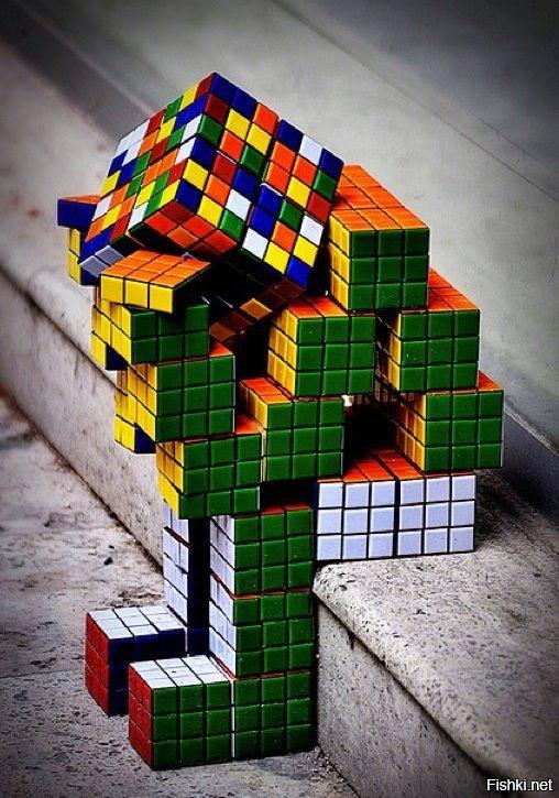 Рисунки, кубик рубика крутые картинки