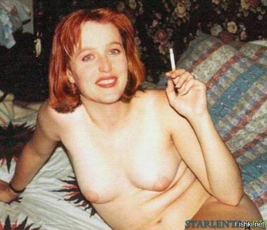 Джулия андерсон из секретных материалов порно с ней