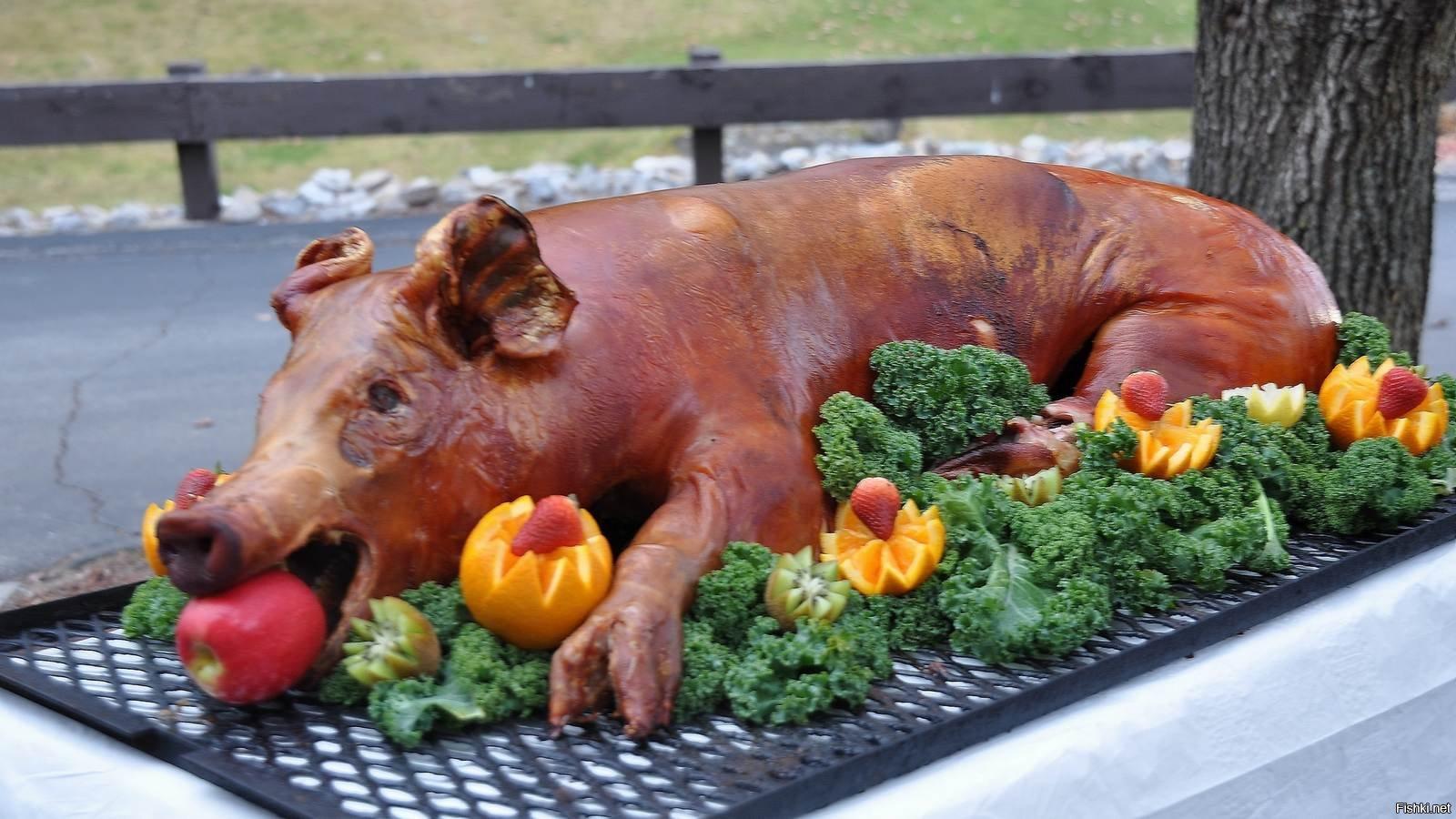 Жареная свинина смешные картинки, игра