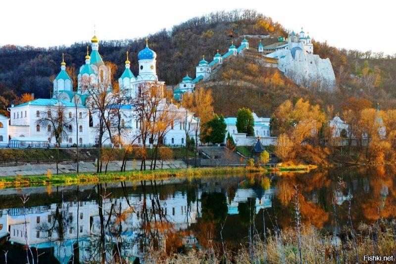 хотел святогорский монастырь фото глухих стен