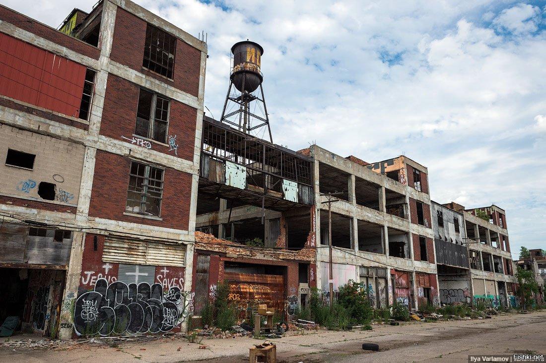 Заброшеные города сша фото
