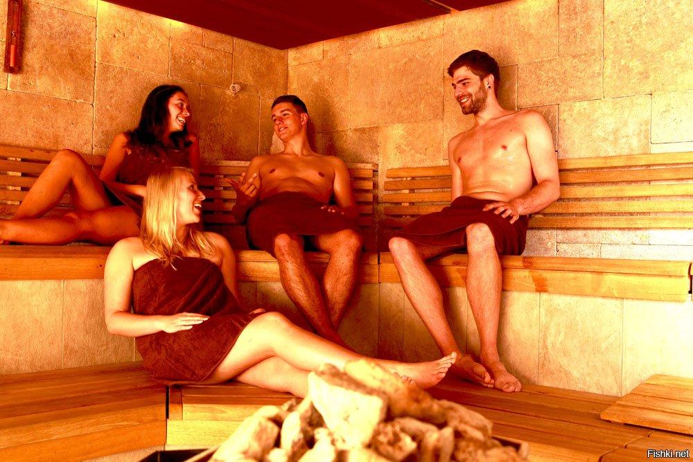 как развлекаются богатые мужики в саунах