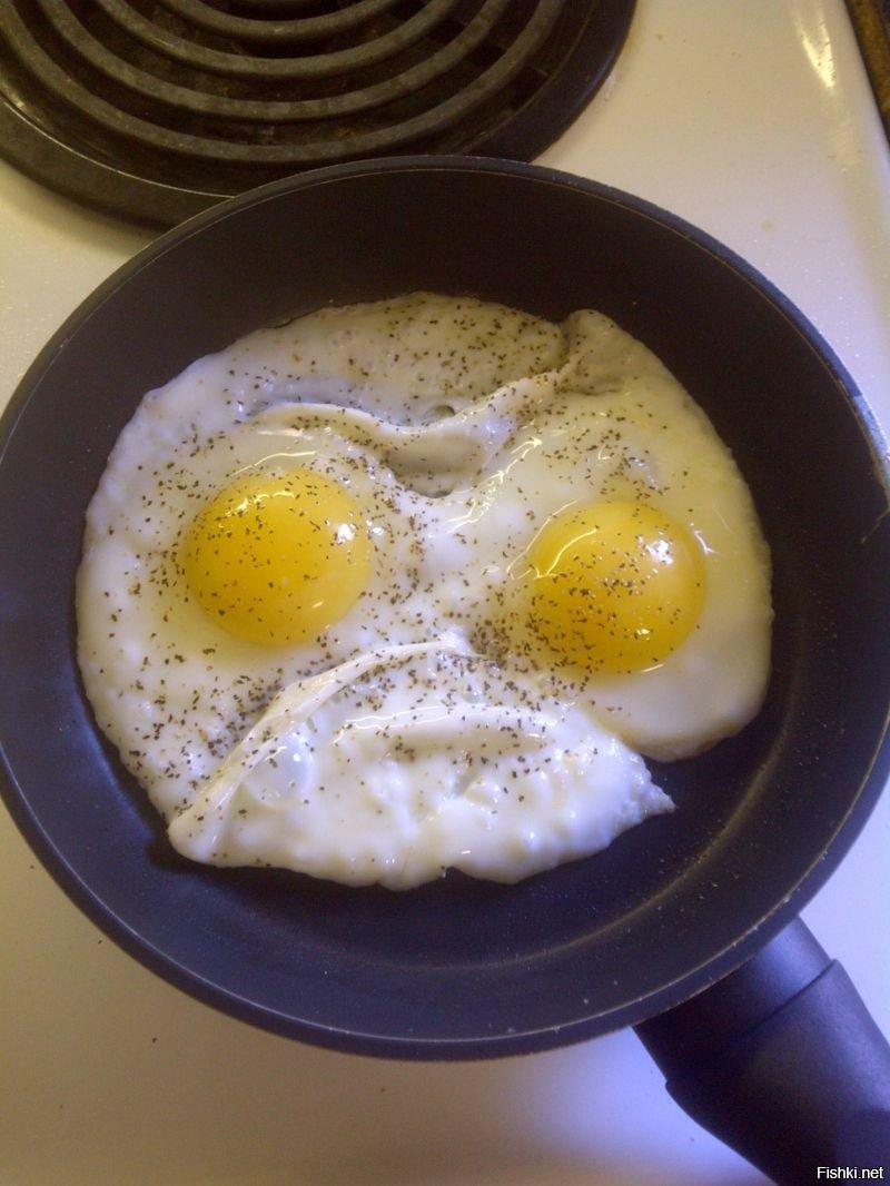 яичница смешная фото несколько фото