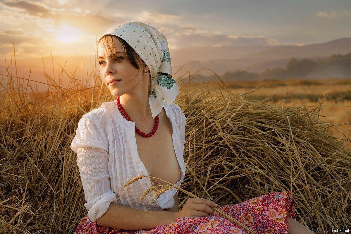 сексуальные деревенские женщины фото