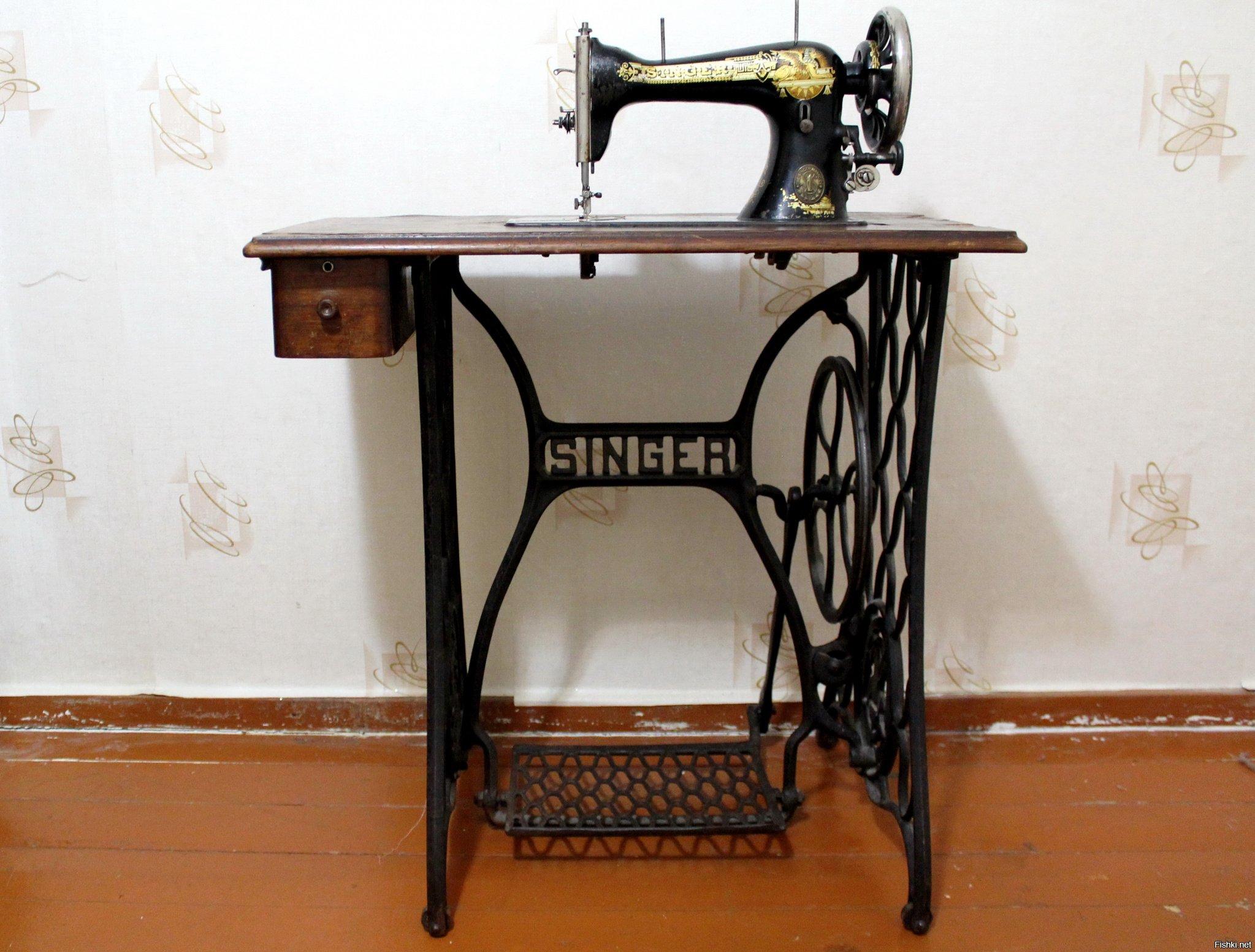 дома тепло швейная машинка зингер фото всех годов выпуска появлением вскоре