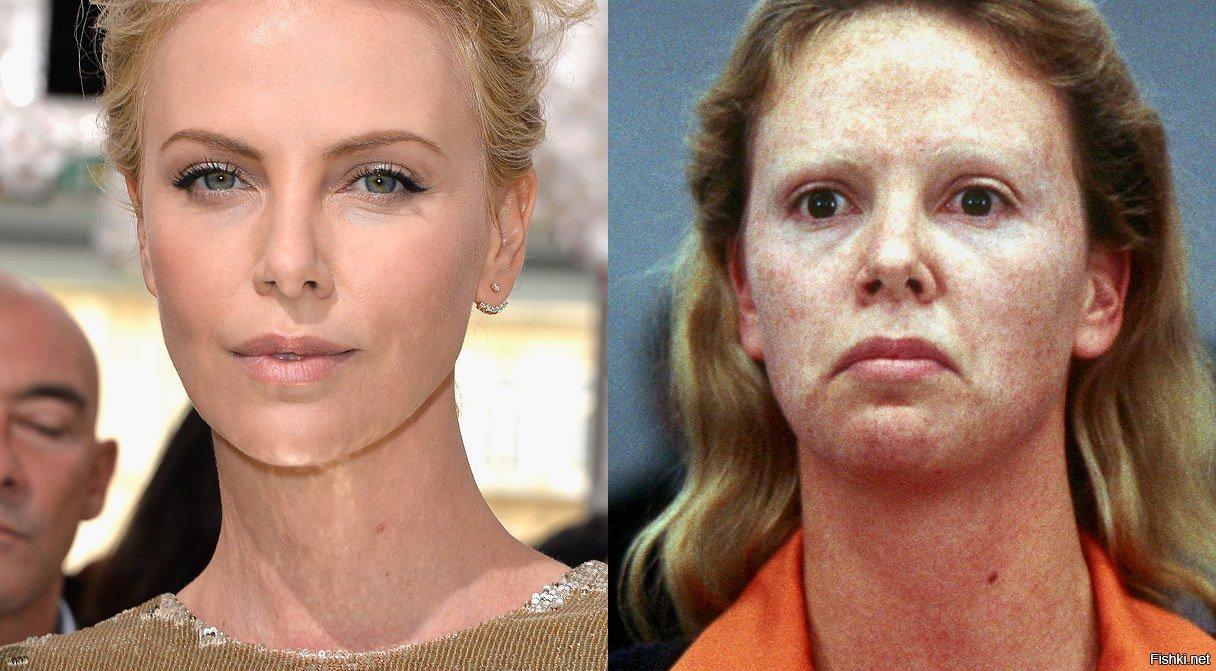 актеры до и после грима фото приведена