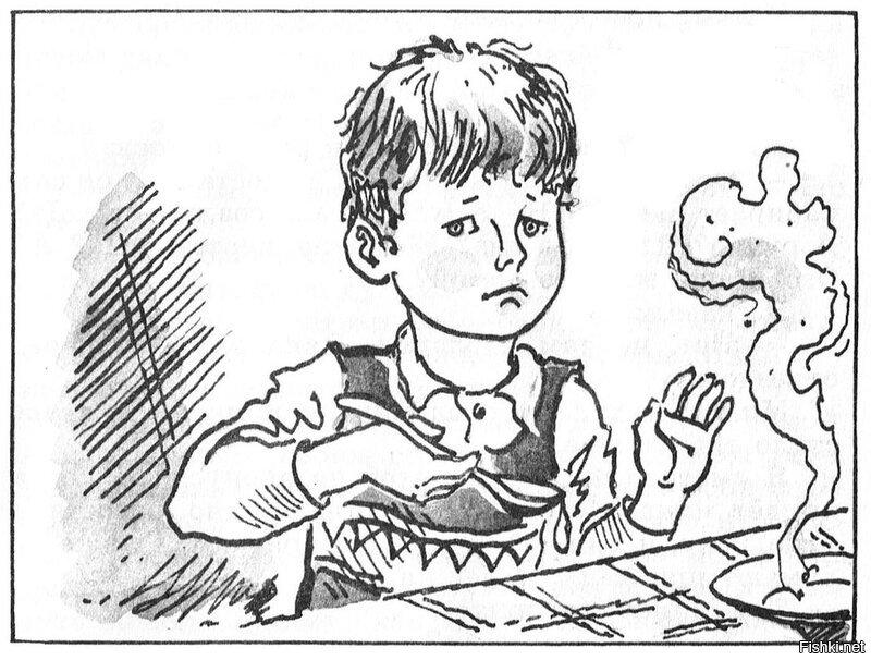 картинки денискины рассказы карандашом