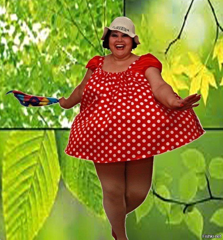 Прикольные фото и картинки толстушек