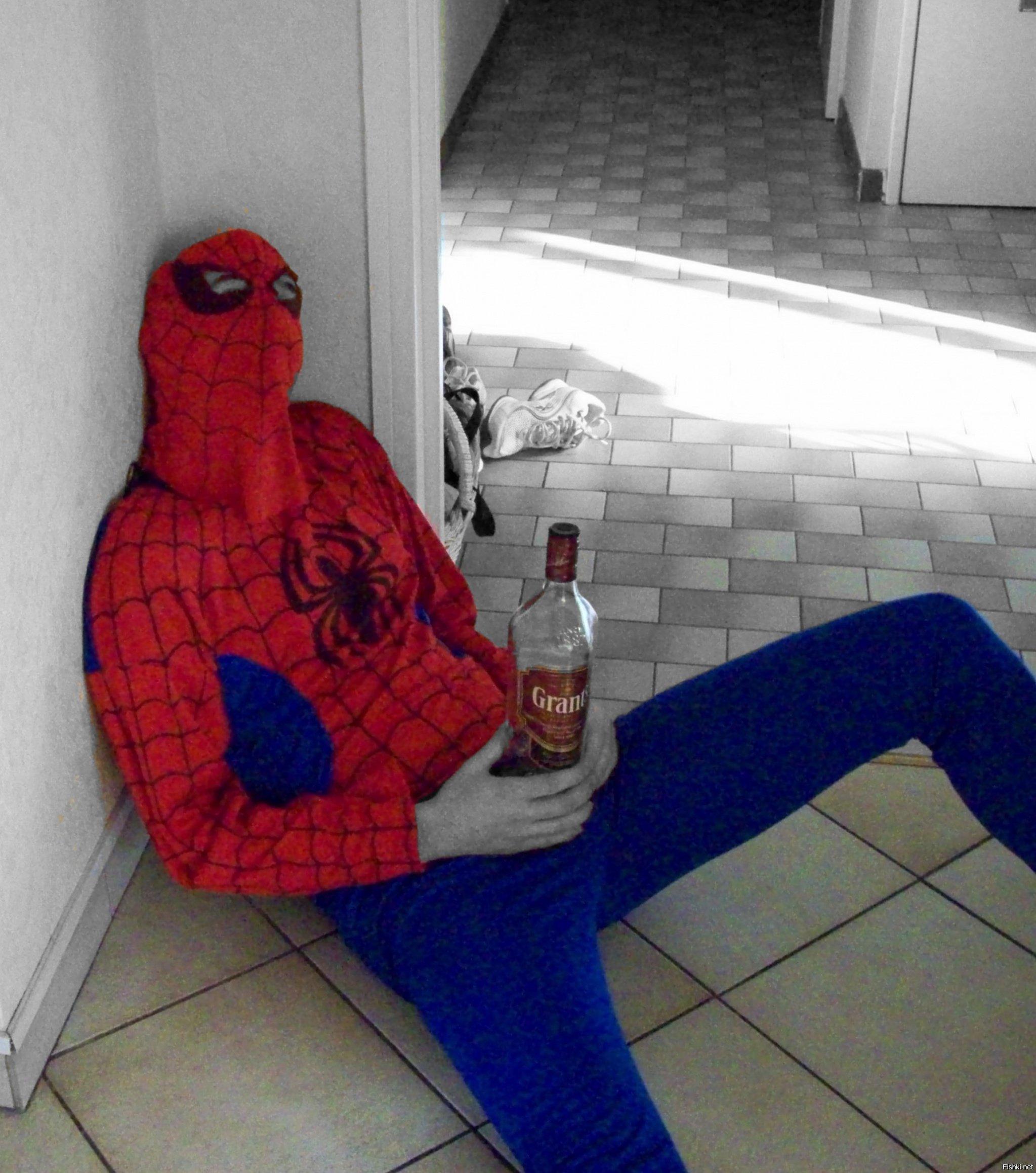 Новогодняя, приколы с человеком пауком картинки