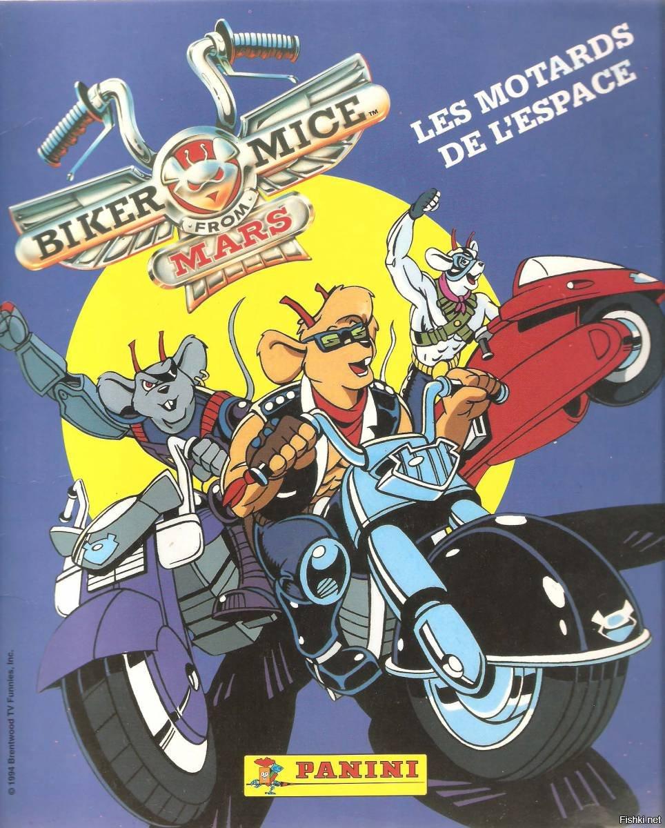motorcycle mice cartoon - 964×1000