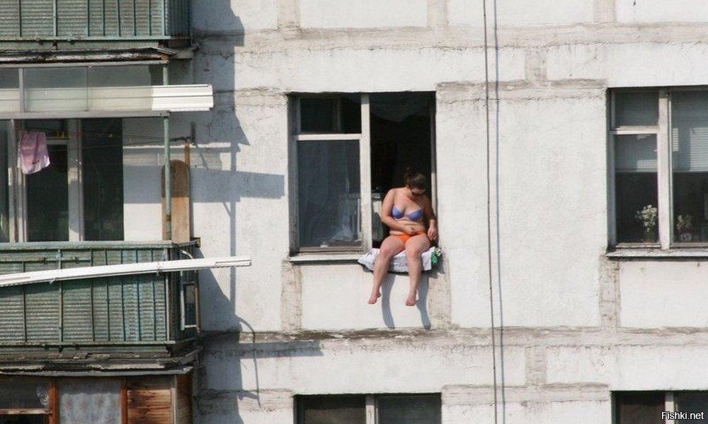 Соседки по балкону фото #14