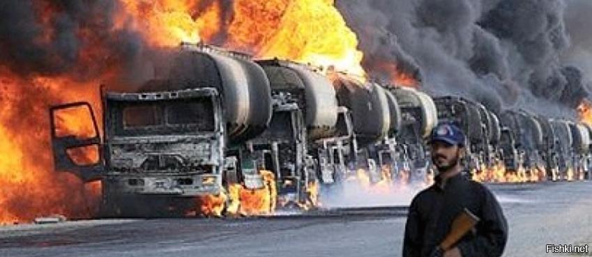 фото машин с нефтью в турцию любом