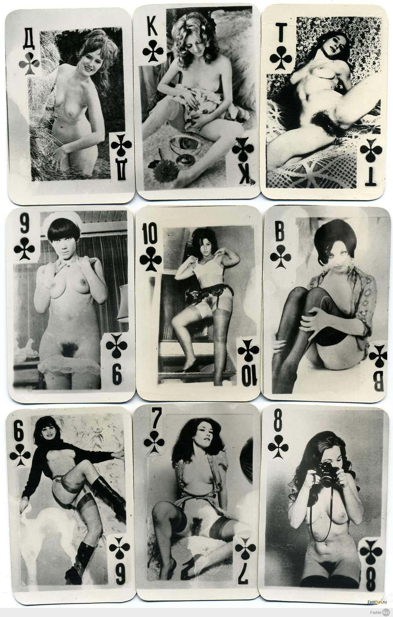 игральные ссср карты порно фото