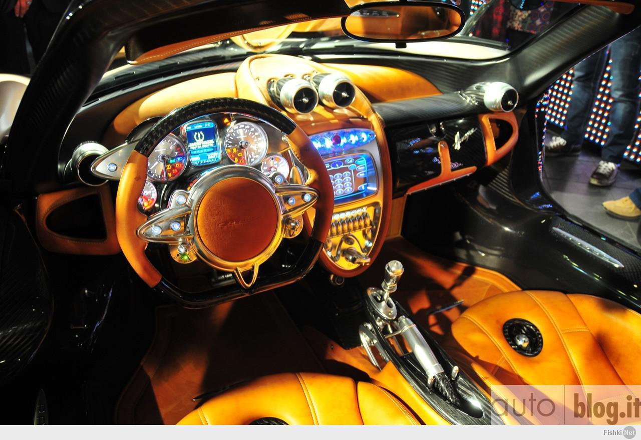pagani huayra interior - HD1280×850
